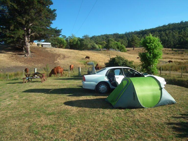 camping en Tasmanie