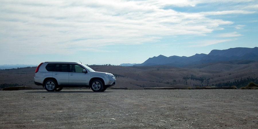 voiture photographie lors d'un roadtrip en Australie