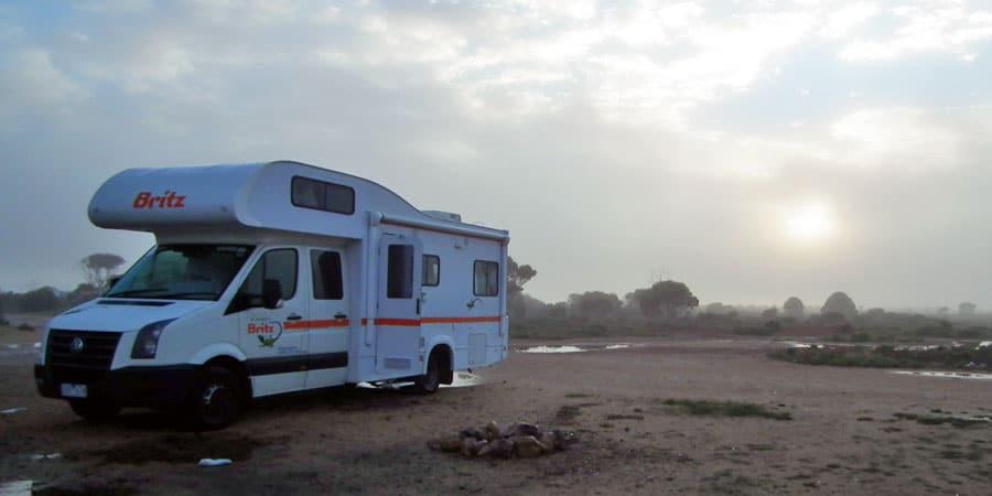 camping caravaning Australie