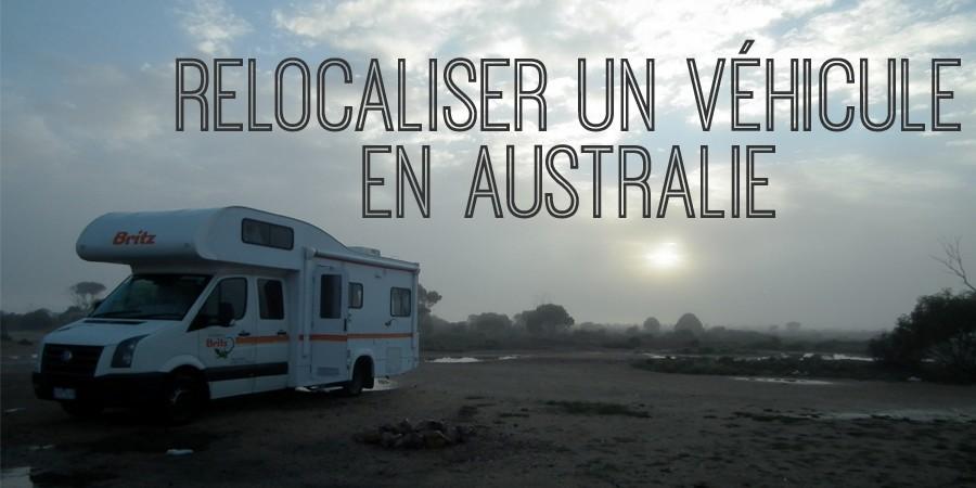 relocaliser un véhicule en Australie