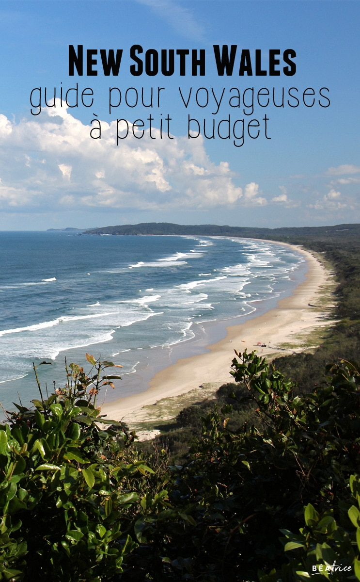 Image pour Pinterest : New South Wales petit budget