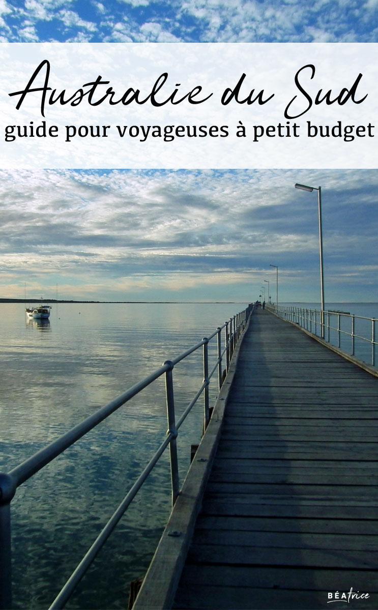 Australie du Sud petit budget