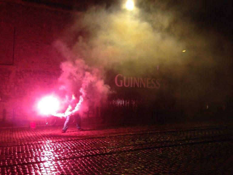 Party d'ouverture TBEX au Guinness Storehouse