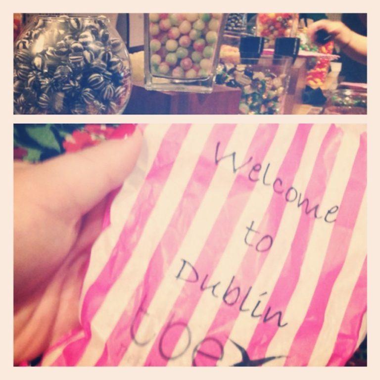 Bar de bonbons de TBEX