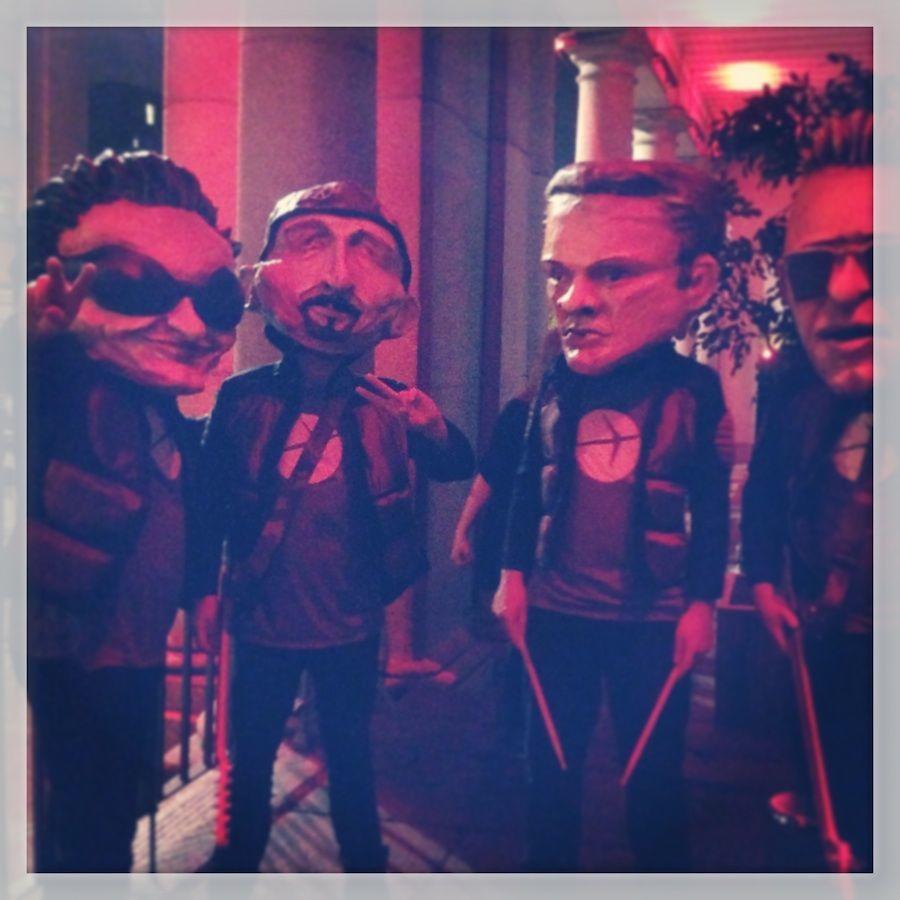 U2 au party #ExpediaTBEX