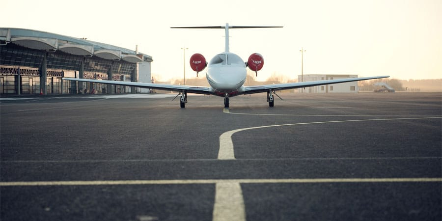 prendre l'avion à Burlington