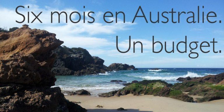 six mois en Australie