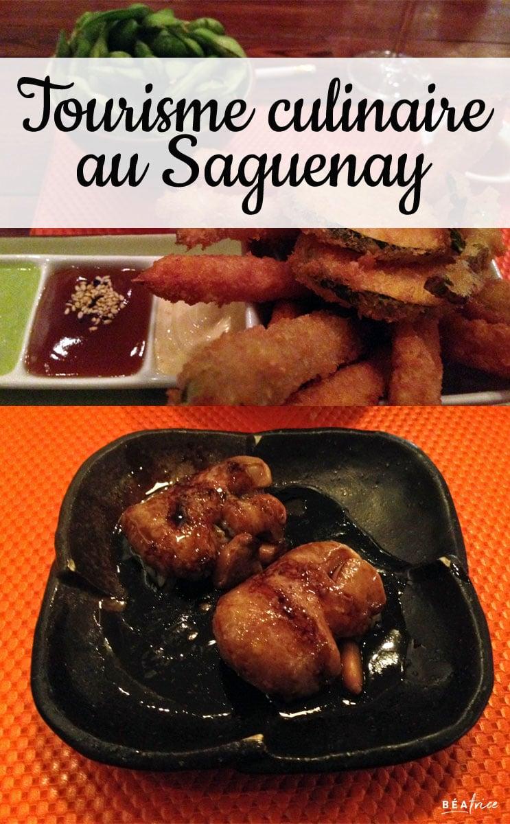 Image pour Pinterest : restaurants au saguenay