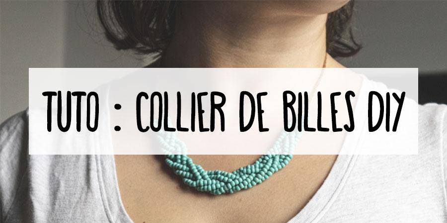 Tuto : faire un collier DIY
