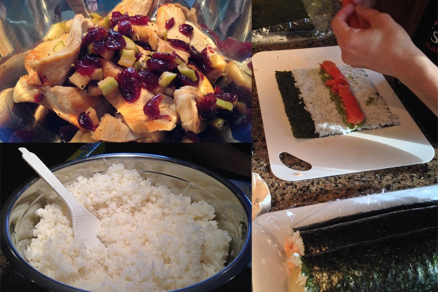 L 39 exp rience sushi la maison b atrice for A la maison personal chef service