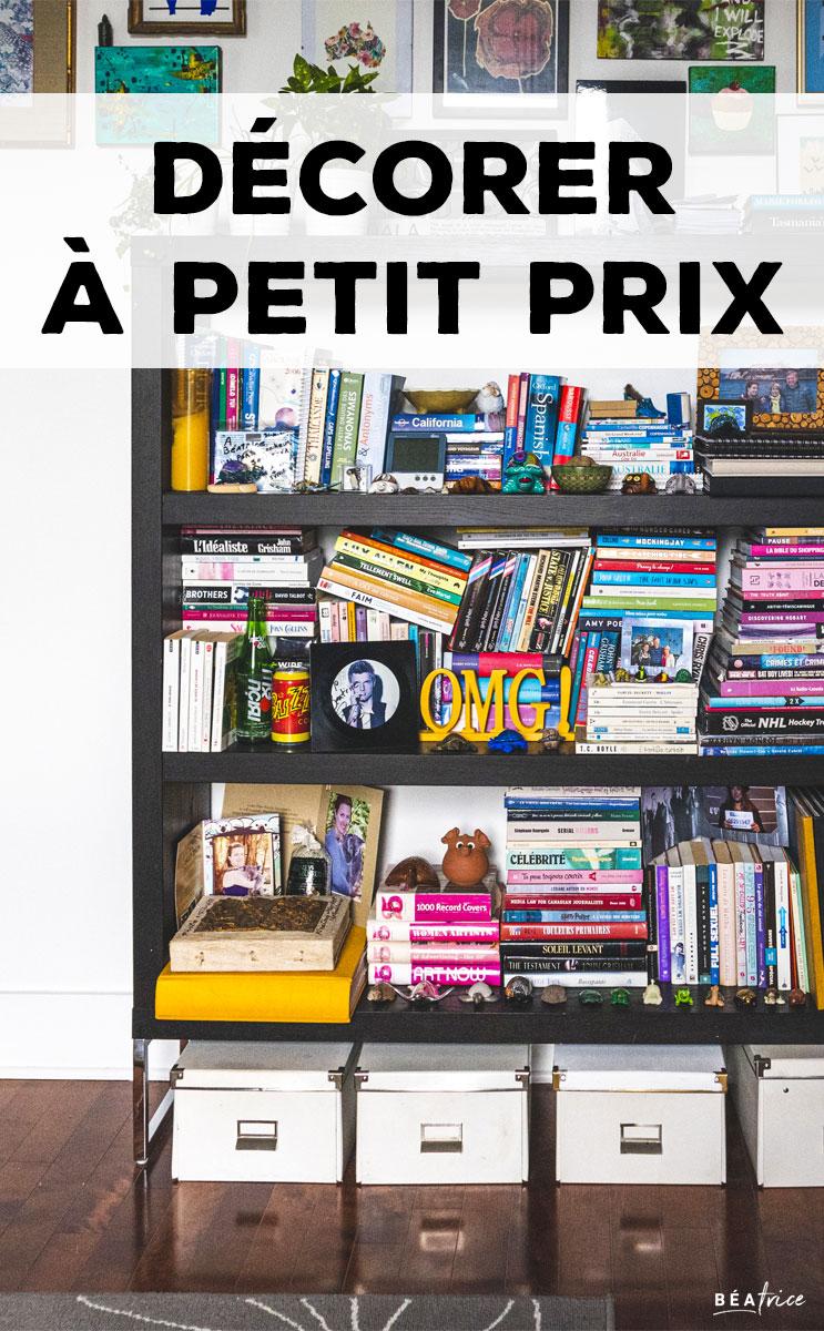 Image pour Pinterest : décorer petit budget