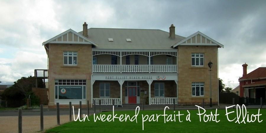 Un weekend parfait au Port Elliot YHA