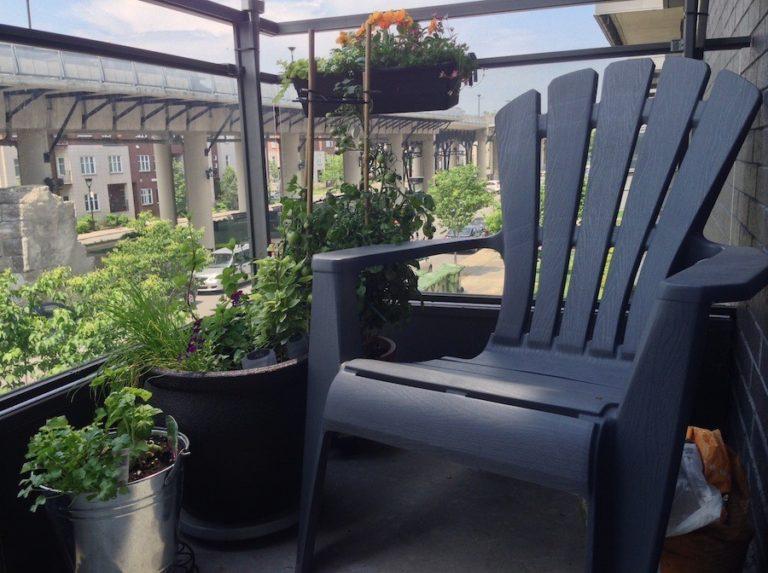 jardin urbain balcon
