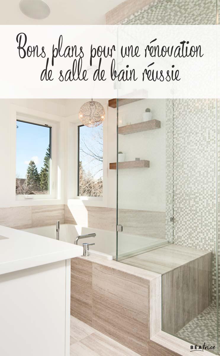 Image pour Pinterest : rénovation de salle de bain