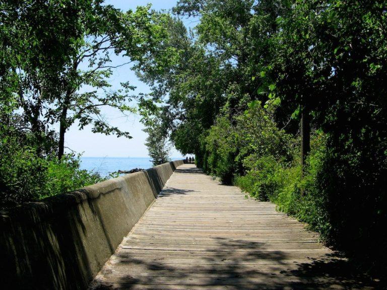 Boardwalk à Toronto Islands