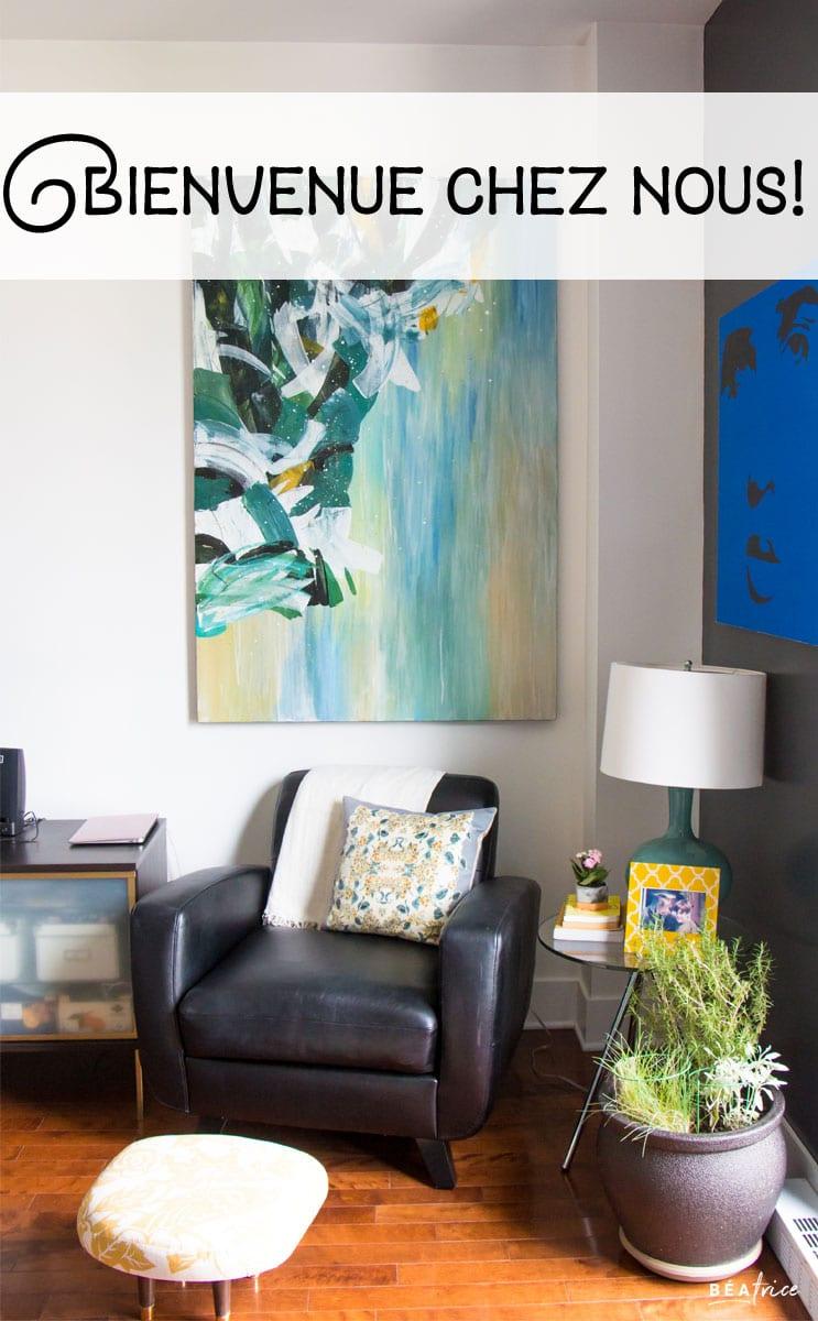 Image pour Pinterest : déco appartement