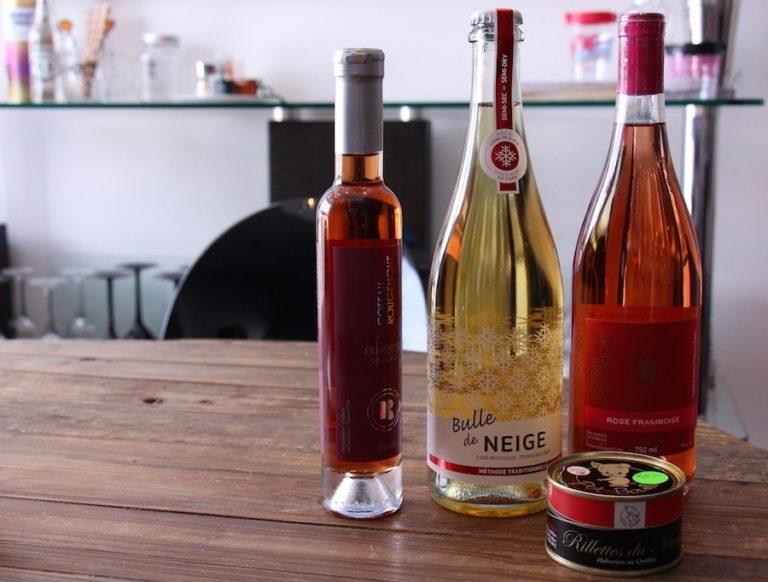 Cidres et vins de glace en Montérégie