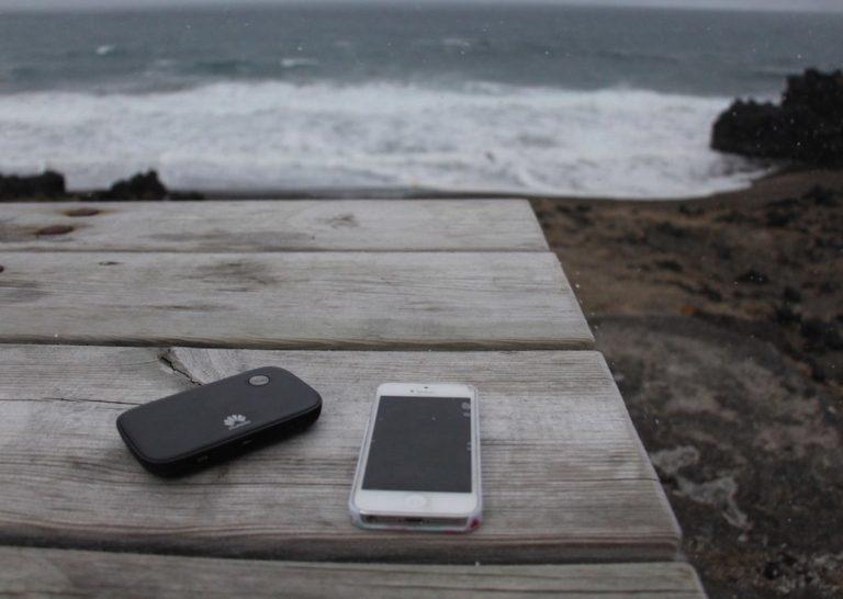 Widget pour avoir internet sans fil en Islande