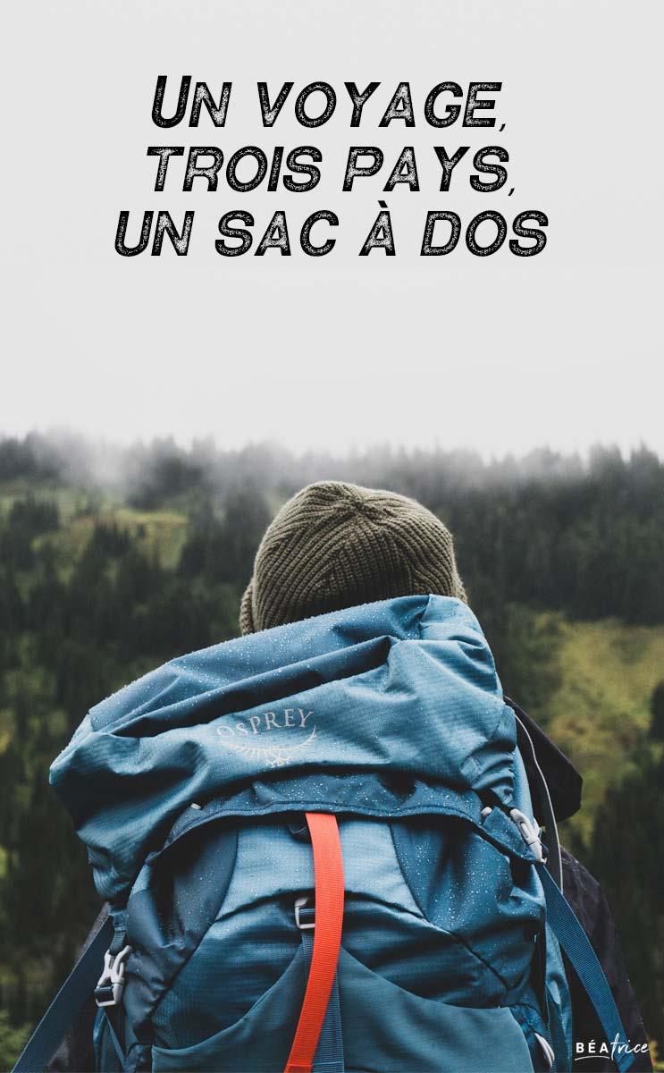 Image pour Pinterest : sac à dos Europe
