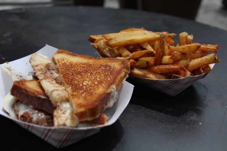 Repas au Roxy's Gourmet Grilled Cheese