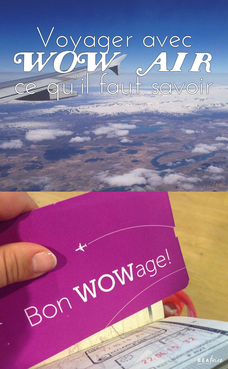 Image pour Pinterest : WOW Air