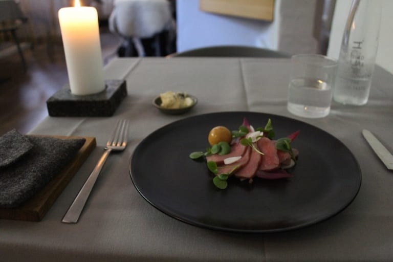 Repas au restaurant Koefoed de Copenhague