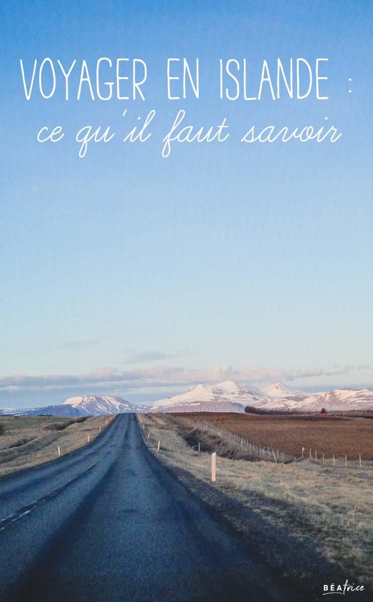 Image pour Pinterest : voyage en Islande