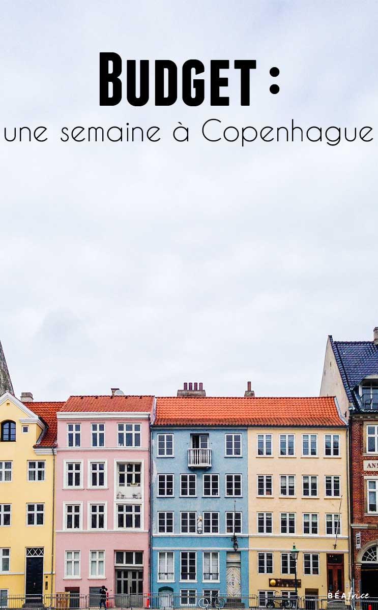 Image pour Pinterest : budget voyage Copenhague
