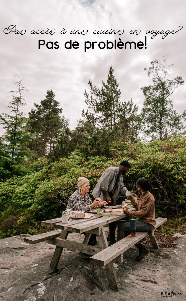 Image pour Pinterest : cuisine en voyage
