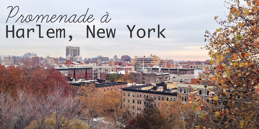 Promenade à Harlem, New York