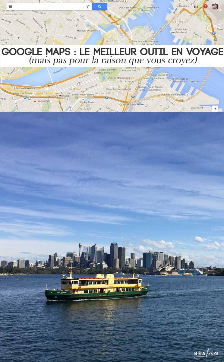Image pour Pinterest : Google Maps