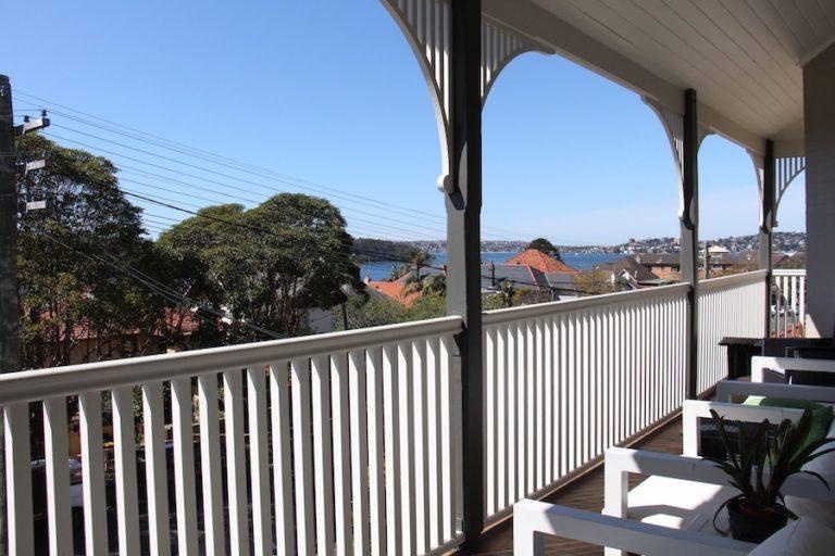 terrasse du Cremorne Point Manor, Sydney