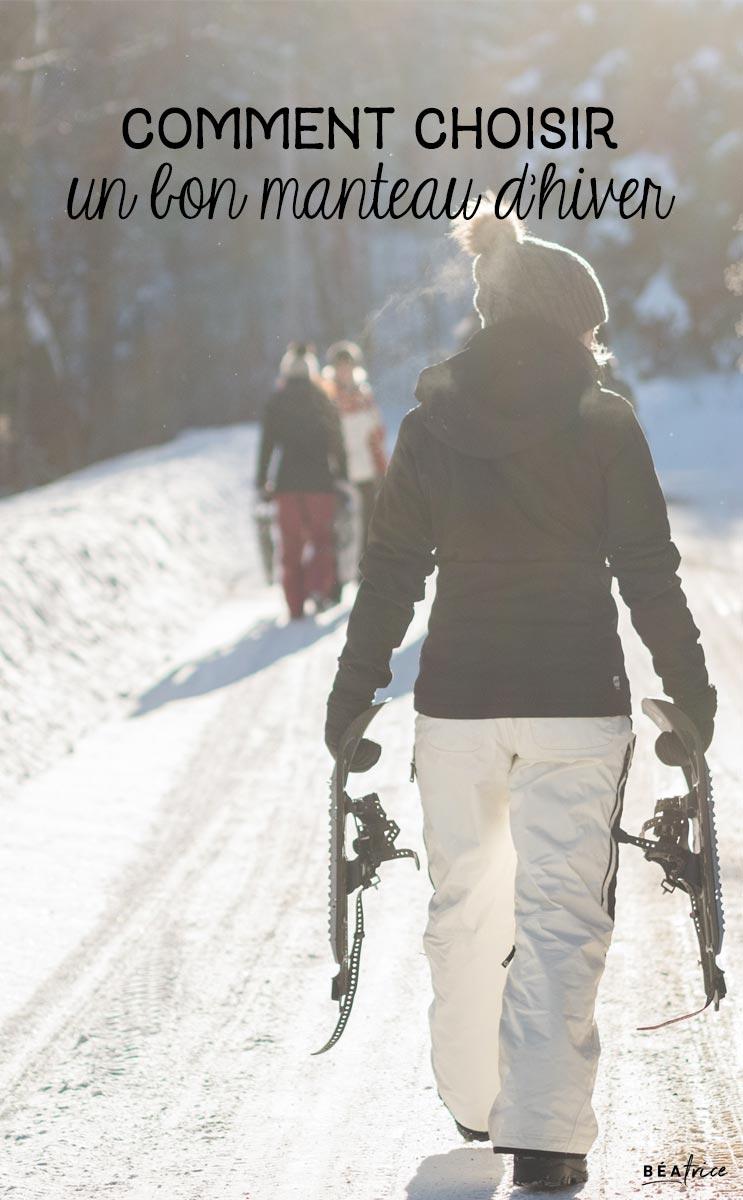 Image pour Pinterest : manteau d'hiver