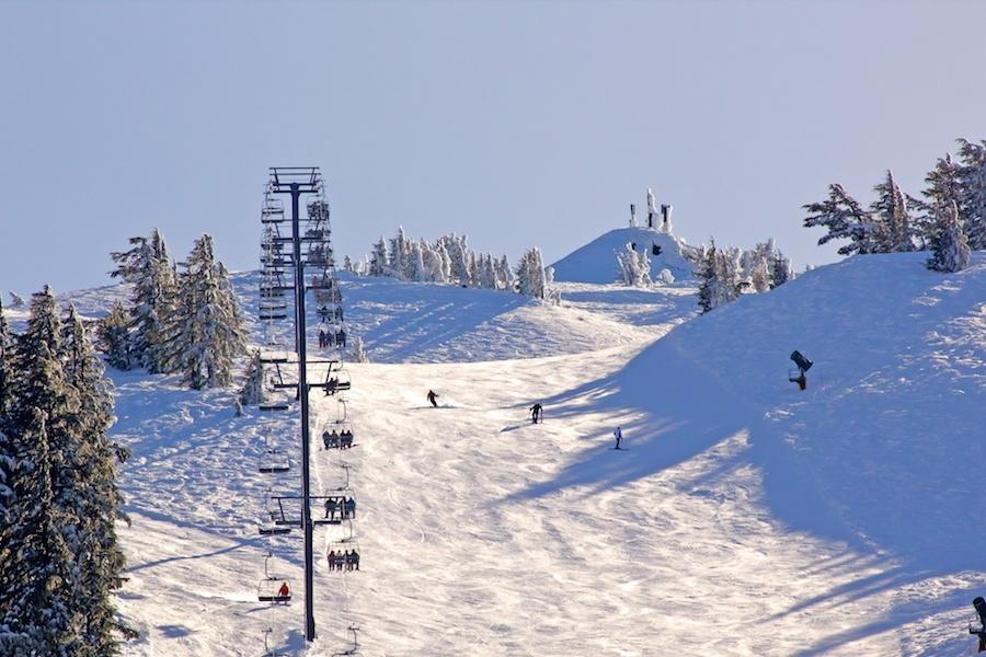 Montagne de ski