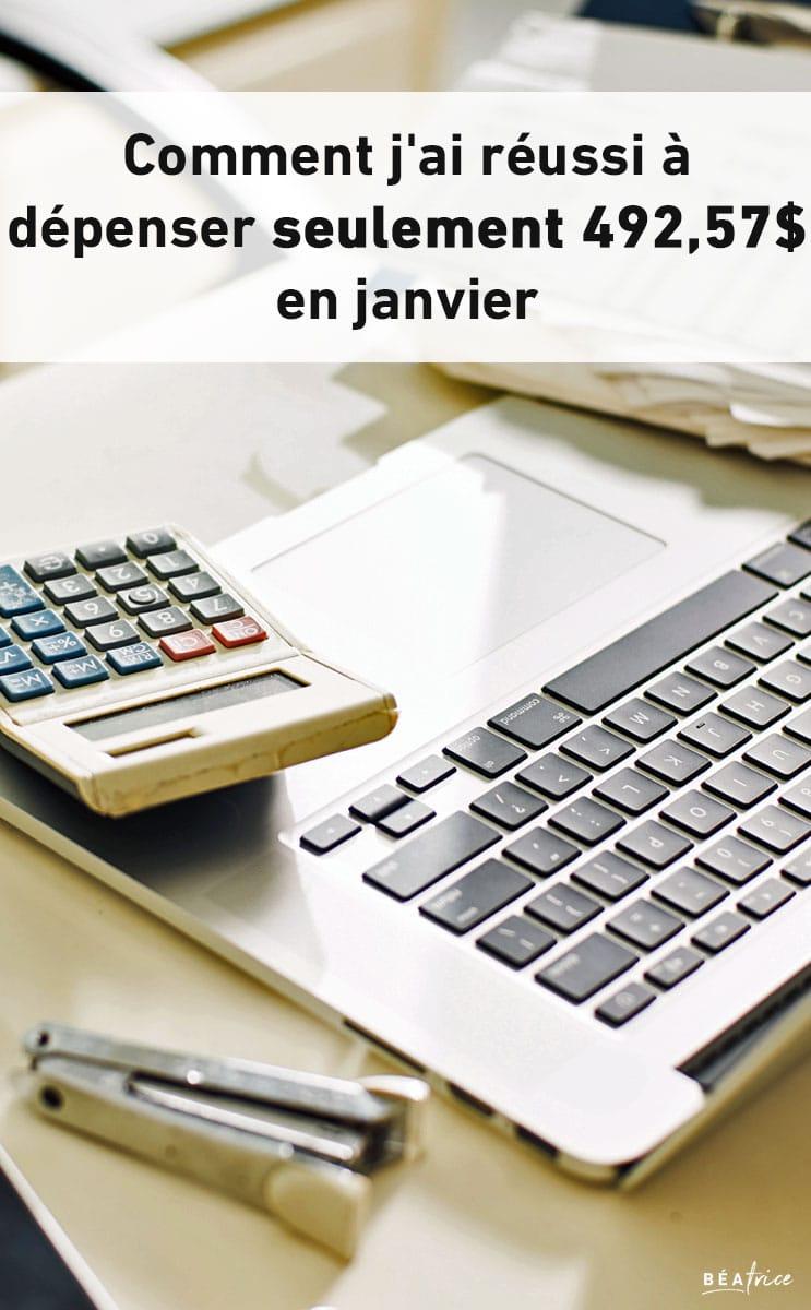 budget janvier 2016