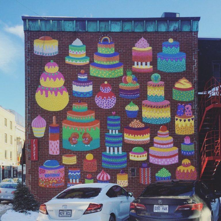 Le village, Montréal