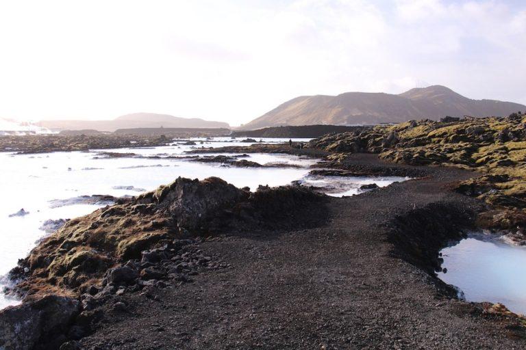 Terrain du Blue Lagoon Islande