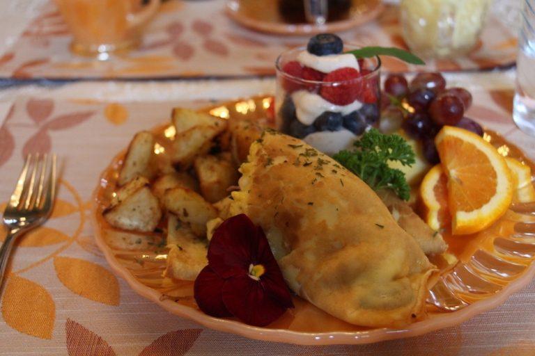 Déjeuner à la Maison d'Élyse, en Beauce