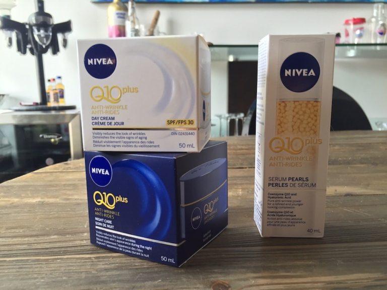 Gamme de produits Nivea Q10plus