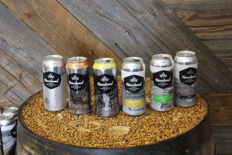 Bières de la microbrasserie Riverbend