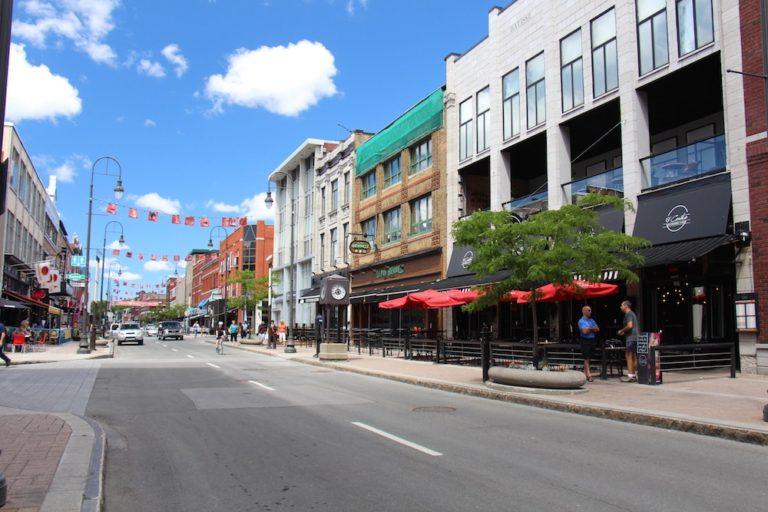 Rue des Forges, Trois-Rivières