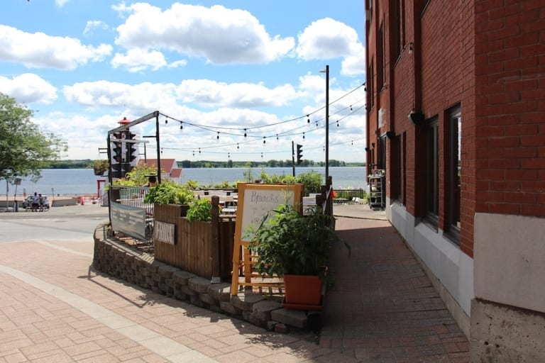 Terrasse du Restaurant Frida