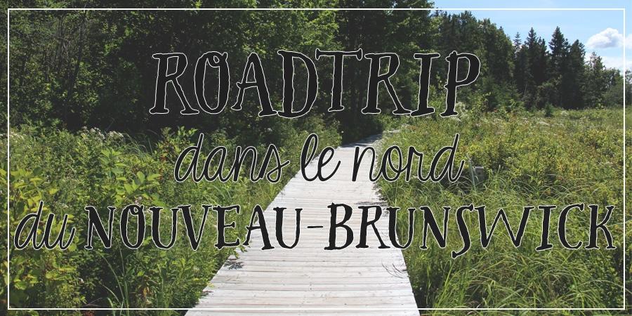 Roadtrip dans le nord du Nouveau-Brunswick