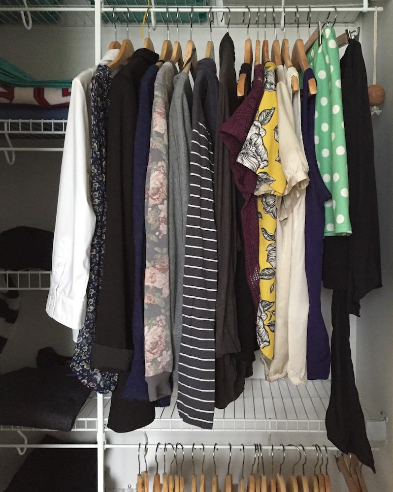 magasiner dans son garde-robe