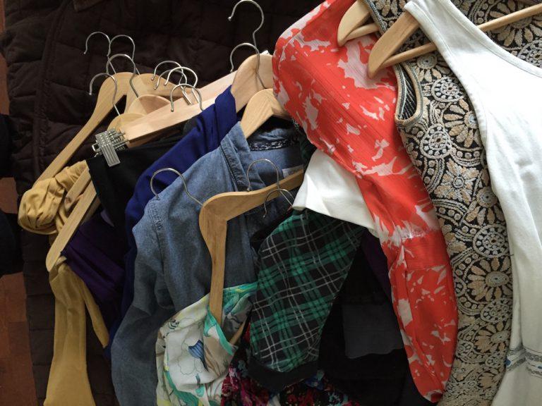 magasiner dans sa garde-robe