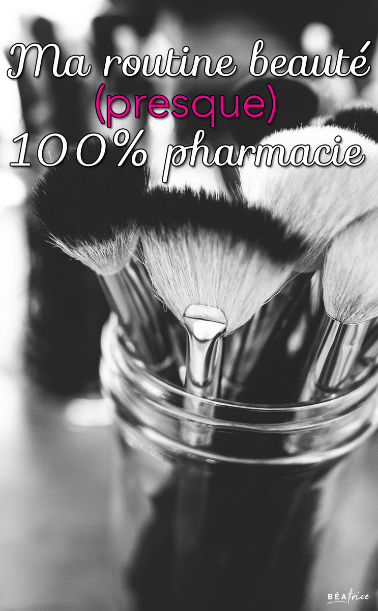 Image pour Pinterest : maquillage pharmacie