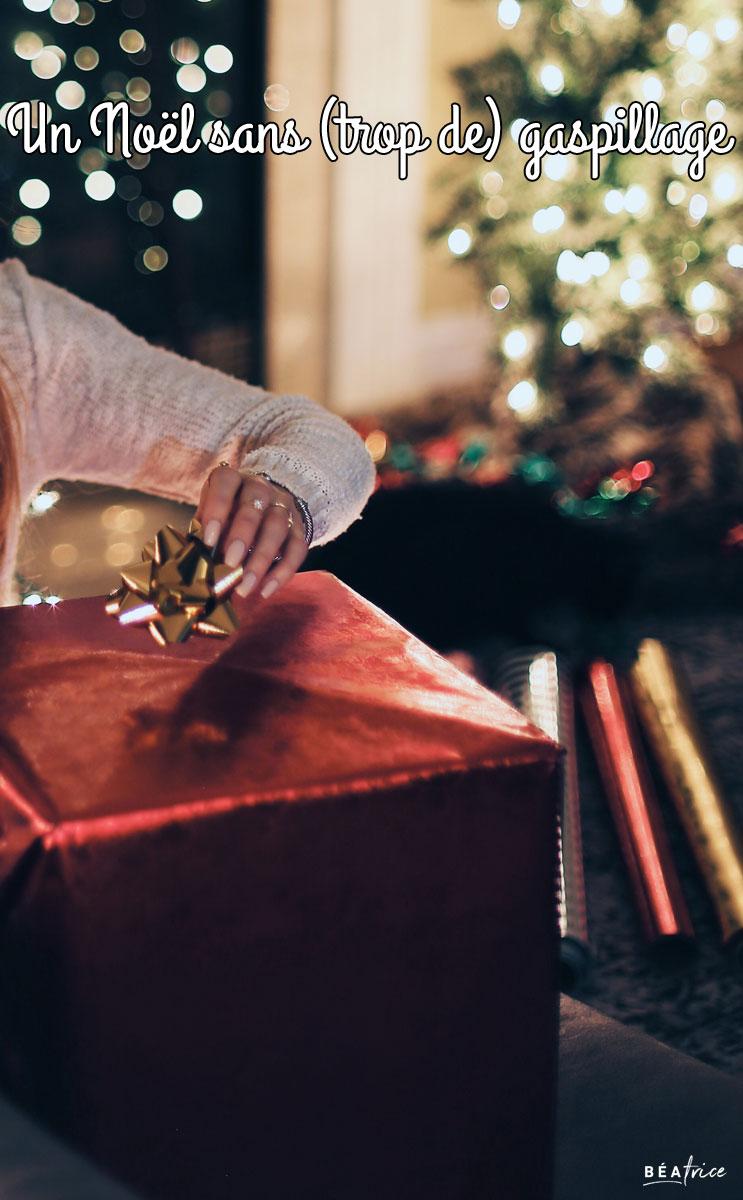 Image pour Pinterest : Noël sans gaspillage