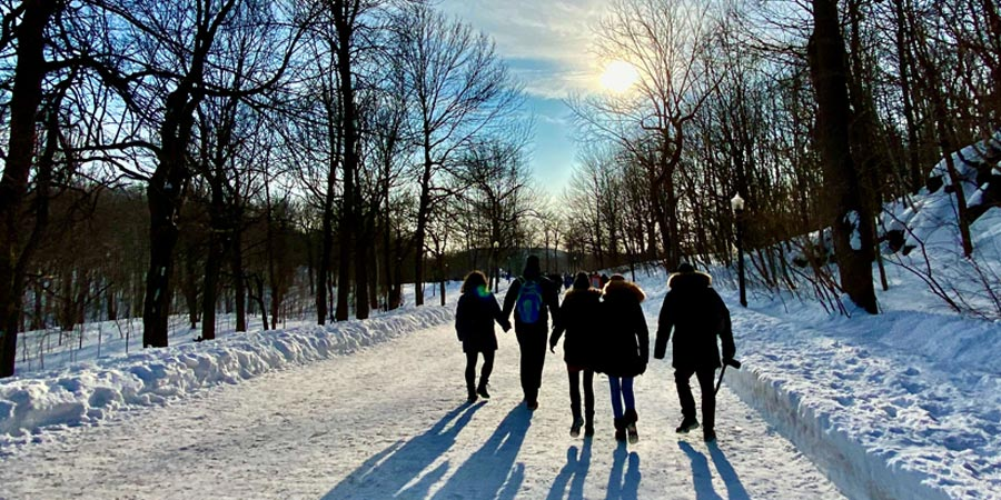 Image à la une : gratuit à montréal cet hiver