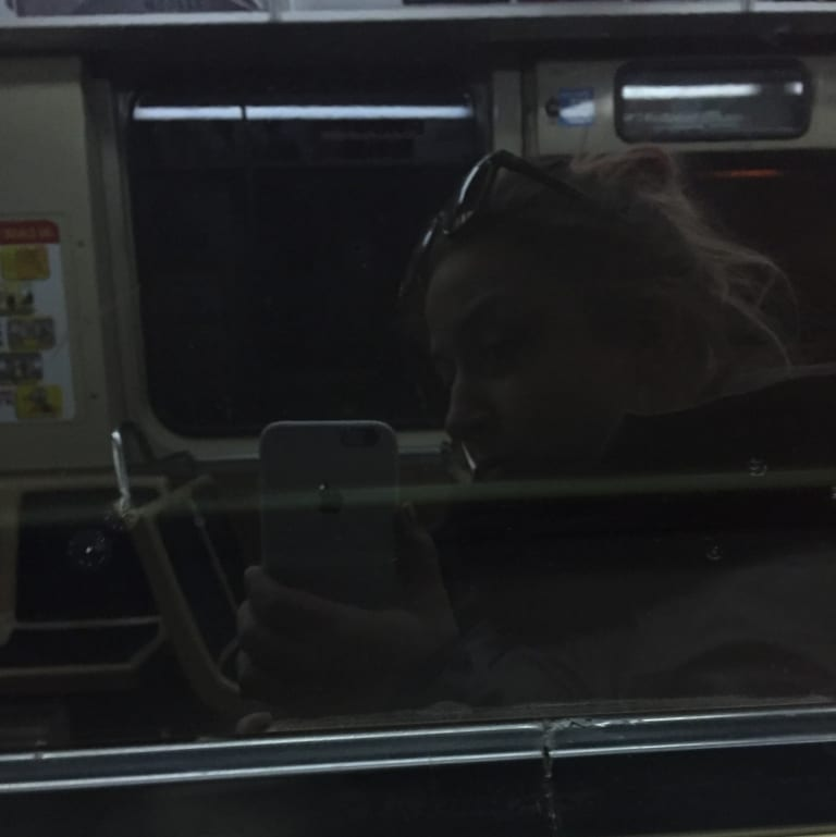 Selfie L Train