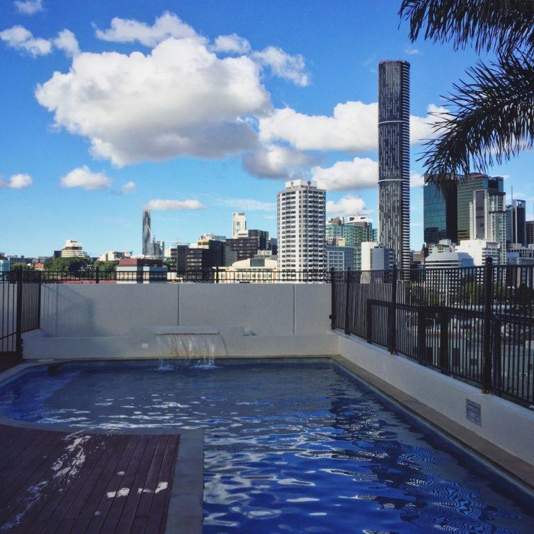 Piscine auberge de jeunesse Brisbane